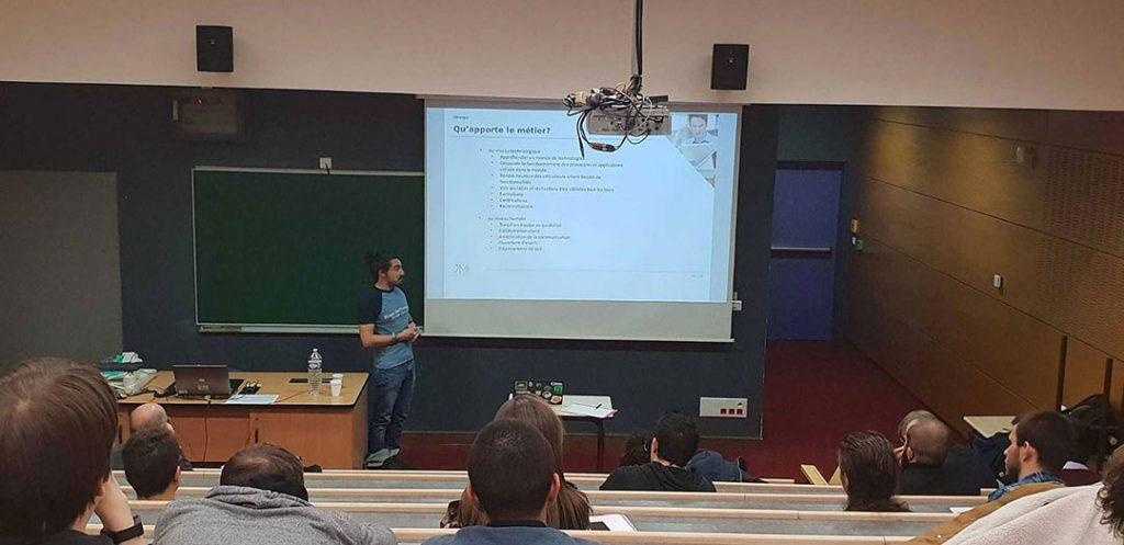Etudiant Etudiants : Capensis était à la Journée des Métiers de l'Informatique 2